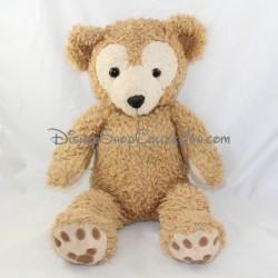 Peluche ours DISNEY PARKS Duffy The Disney Bear beige 44 cm