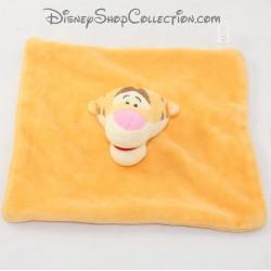 Doudou flach Tigrus CARREFOUR Disney Orange