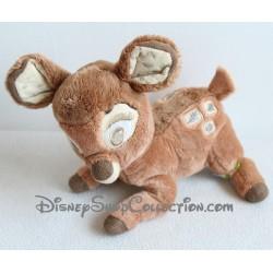 Peluche Bambi DISNEY NICOTOY motifs feuille et glands 21 cm