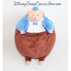 Peluche Boulard le cochon DISNEY STORE Chicken Little Big Pig 20 cm