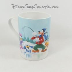 Mug Mickey Minnie DISNEY patinoire Donald Daisy Dingo Pluto Make a Wish