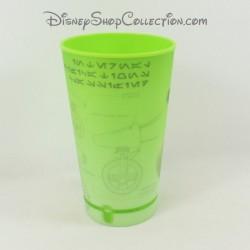 Gobelet verre Star Wars DISNEY en plastique rigide vert Episode IX 14 cm