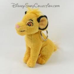Llavero de pelusa Simba DISNEYLAND PARIS El Rey León Amarillo Disney 13 cm