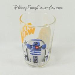Verre Star Wars DISNEY R2D2 Chewbacca Amora moutarde