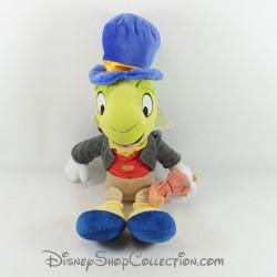 Peluche Jiminy Cricket DISNEY STORE Pinocchio parapluie rouge 45 cm