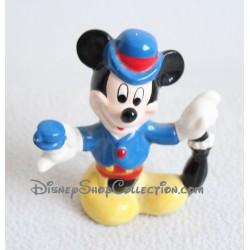 Figurine céramique souris Mickey DISNEY parapluie 9 cm