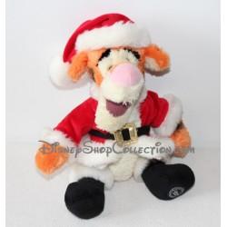 Peluche Tigger DISNEY STORE Santa capa roja 40 cm