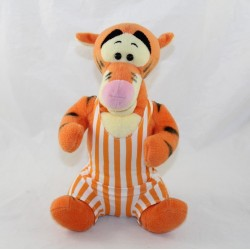 Peluche Tigrou DISNEY orange maillot baigneur rayé 26 cm