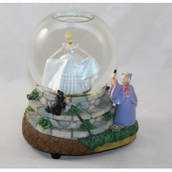 Snow globe musical Cendrillon DISNEY Bibbidi Bobbidi Boo boule à neige 20 cm