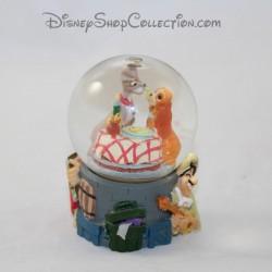 Mini snow globe chiens DISNEY La belle et le clochard