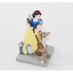 Figurine Blanche Neige DISNEY STORE Classics Blanche-Neige et les 7 nains pvc 6 cm