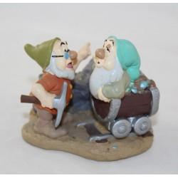 Figurine nains Dormeur et Prof DISNEY STORE Classics Blanche-Neige et les 7 nains pvc 7 cm