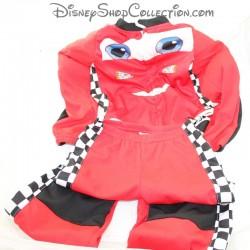 Travestimento in due pezzi Flash McQueen H&M Disney Cars insieme 5-6 anni