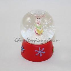 Mini globo di neve Porcinet DISNEY fiocco di neve 6 cm