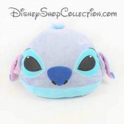 Coussin tête Stitch DISNEY STORE Lilo et Stitch bleu 50 cm