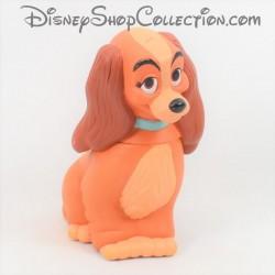 Figurine chienne Lady DISNEY flacon de gel douche La Belle et le clochard pvc 16 cm