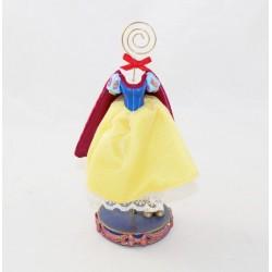Figurine porte photo Blanche-Neige EURO DISNEY Blanche Neige et les 7 nains robe résine 18 cm