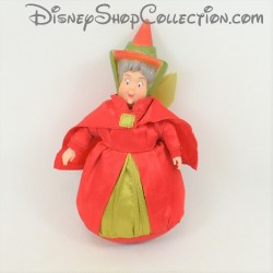 Mini poupée Flora fée DISNEY STORE La Belle au bois dormant rouge Mini doll 14 cm