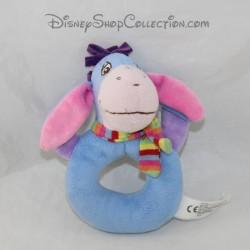 Donkey rattle Bourriquet NICOTOY Disney blue