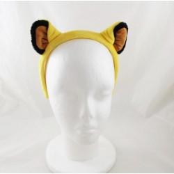 Serre-tête lion Simba DISNEYLAND PARIS Le Roi lion jaune noir