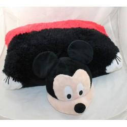 Peluche coussin Mickey DISNEY pillow pets rouge et noir 50 cm