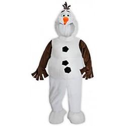 Travestimento pupazzo di neve Olaf DISNEY STORE La regina delle nevi ghiacciata 5/6 anni