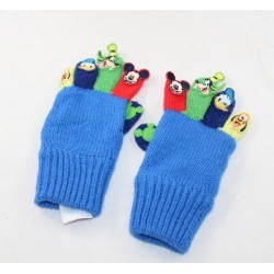 Pair of wool gloves Mickey DISNEY STORE and his friends Donald Dingo and Pluto 2-3 years old