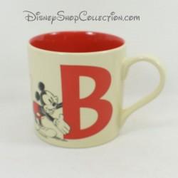 Mug Mickey DISNEYLAND PARIS lettre B croquis tasse céramique Disney 9 cm
