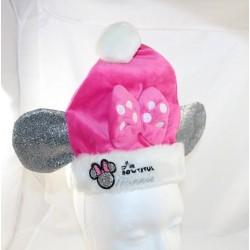 Bonnet de Noël Minnie DISNEY BABY Bowtiful bébé rose oreilles 18-24 mois