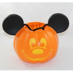 Seau à bonbons Mickey DISNEYLAND PARIS citrouille Halloween Trick or Treat