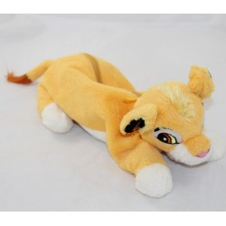 Trousse peluche lion Simba DISNEYLAND PARIS Le Roi Lion Disney 27 cm