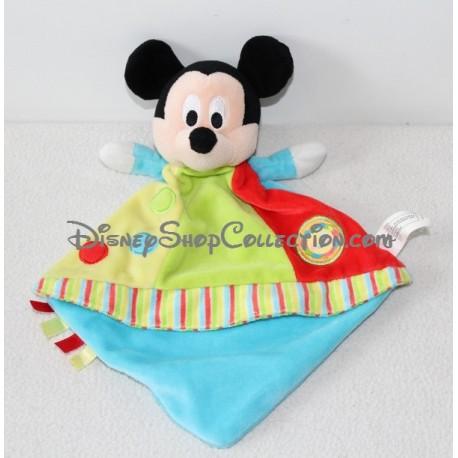 Doudou Mickey flat NICOTOY diamond lion labels circle Disney
