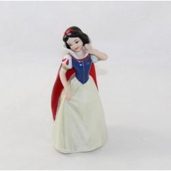 Figurine princesse Blanche-Neige DISNEY céramique porcelaine visage mat 16 cm