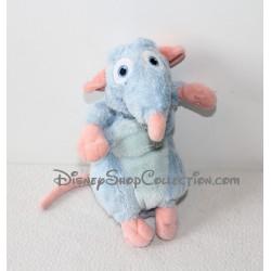 Peluche Rémy rat DISNEY GIPSY Ratatouille bleu 20 cm