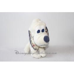 Peluche Chien Pluto DISNEY NICOTOY Classic Mickey blanc bleu 24 cm