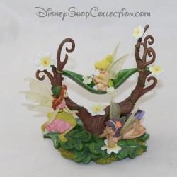 Figurina resina fate DISNEY Fairy Bell, Prilla e Fira Fate resina 12 cm