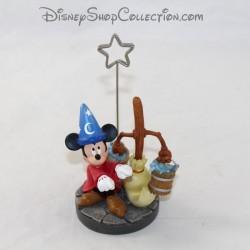 Porta foto figurina Mickey stregone EURO DISNEY Fantasia resina 13 cm