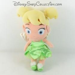 Poupée peluche fée Clochette DISNEY STORE Disney Fairies Peter Pan petite fille 34 cm