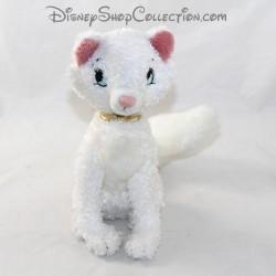 Gato duquesa de peluche DISNEYLAND PARIS Los Aristocats blancos Disney 21 cm