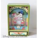 Ancienne boite à musique TROUSSELIER Mickey Minnie It's a small World vintage