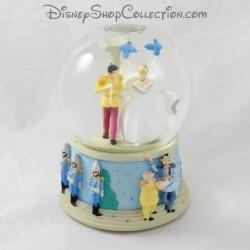 Snow globe musical Cenerentola DISNEY Matrimonio con il suo principe