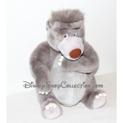 Peluche ours Baloo DISNEYLAND PARIS Le livre de la jungle 35 cm