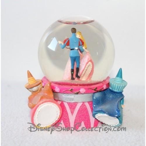 Snow globe la belle au bois dormant disney aurore prince boule ne - Boule a neige collectionneur ...