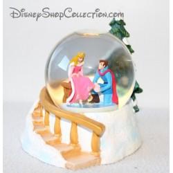 Snow globe La belle au bois dormant DISNEY Aurore Noël boule à neige 10 cm