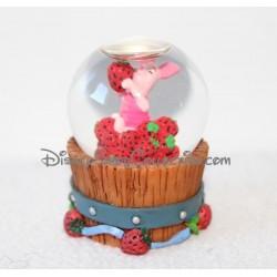 Snow globe Porcinet DISNEY fraise boule à neige Winnie l'ourson 7 cm