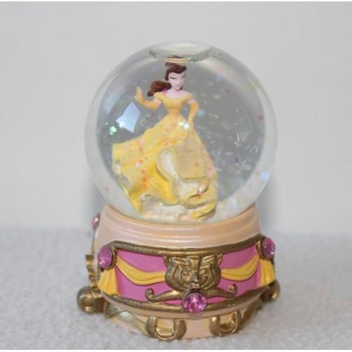 Snow globe belle disney la belle et la b te princesse boule neige - Boule a neige collectionneur ...