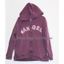 Con cremallera chaqueta Angel DISNEYLAND París Lilo y puntada 8 púrpura