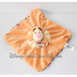Doudou flat Tigger NICOTOY Disney striped puppet scarf 23 cm