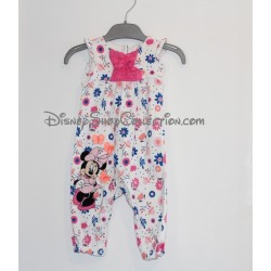 Combination romper Minnie DISNEY STORE 3-6 month old daughter flowers short sleeve