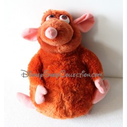 Peluche Emile rat DISNEYLAND PARIS Ratatouille Disney marron 32 cm